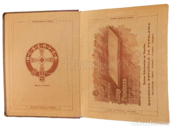 Catálogos publicitarios: CATÁLOGO Nº 2 OBJETOS DE ESCRITORIO. SOCIEDAD ESPAÑOLA DE PAPELERÍA AÑO 1910 SAN SEBASTIÁN - MADRID - Foto 2 - 236249540
