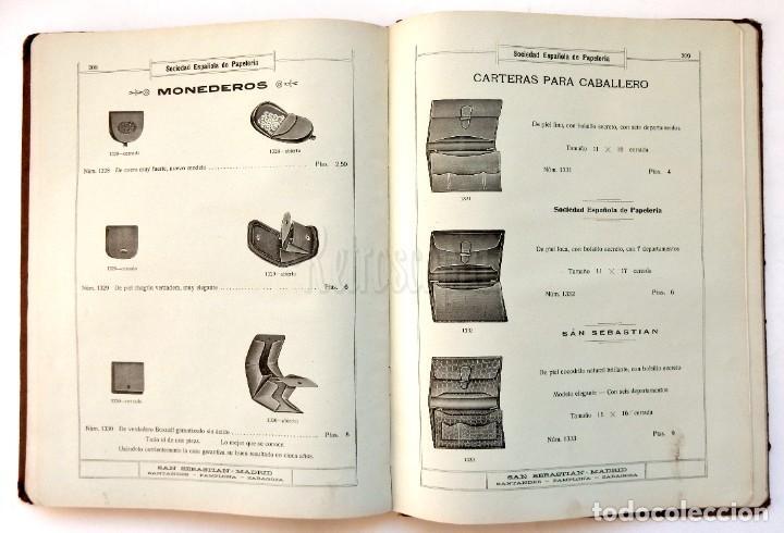 Catálogos publicitarios: CATÁLOGO Nº 2 OBJETOS DE ESCRITORIO. SOCIEDAD ESPAÑOLA DE PAPELERÍA AÑO 1910 SAN SEBASTIÁN - MADRID - Foto 15 - 236249540