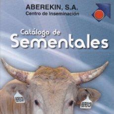 Catálogos publicitarios: CATALOGO DE SEMENTALES ABEREKIN 2005/2006. Lote 259295885