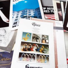 Catálogos publicitarios: GRAN LOTE DE CATÁLOGOS DE MUEBLES DE COCINA, BAÑO, GRIFERÍA E INTERIORES. AÑOS 80. Lote 236766505