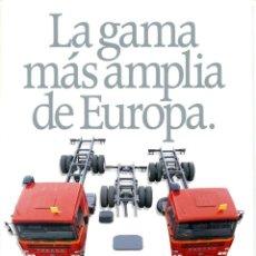 Catálogos publicitarios: TRÍPTICO ORIGINAL PEGASO RÍGIDOS 20 TM. Lote 236933165
