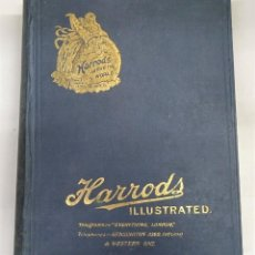 Catálogos publicitarios: HARRODS ILLUSTRATED.THE DIAMOND JUBILEE EDITION OF HARRODS'. GENERAL PRICE LIST FOR 1909. Lote 240597345
