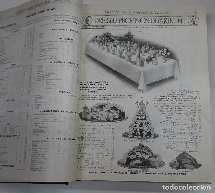 Catálogos publicitarios: HARRODS ILLUSTRATED.The diamond jubilee edition of Harrods. General Price List for 1909 - Foto 14 - 240597345