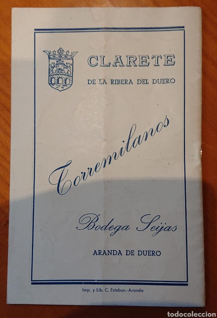 Catálogos publicitarios: Aranda de Duero, Burgos, 1950,guía de fiestas, raro, buen estado - Foto 2 - 240680250