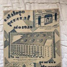 Catálogos publicitarios: ALMACENES EL SIGLO CATALOGO GENERAL 1929. Lote 241451140