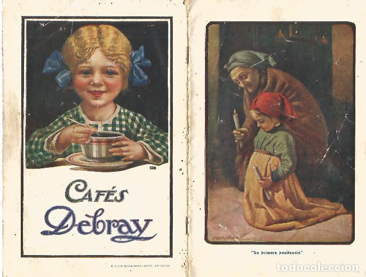 ORIGINAL CATALOGO 1917 CAFES ESTABLECIMIENTOS DEBRAY EDITA SEIX BARRAL HNºS BARCELONA RARO UNICO TC (Coleccionismo - Catálogos Publicitarios)