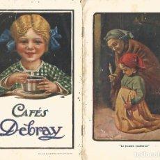 Catálogos publicitarios: ORIGINAL CATALOGO 1917 CAFES ESTABLECIMIENTOS DEBRAY EDITA SEIX BARRAL HNºS BARCELONA RARO UNICO TC. Lote 243820045