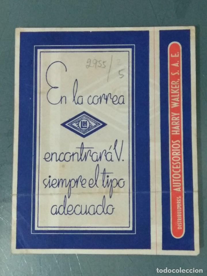 Catálogos publicitarios: CORREAS TRAPEZOIDALES - LATEX. HISPANIA. PUBLICIDAD. - Foto 2 - 246070895