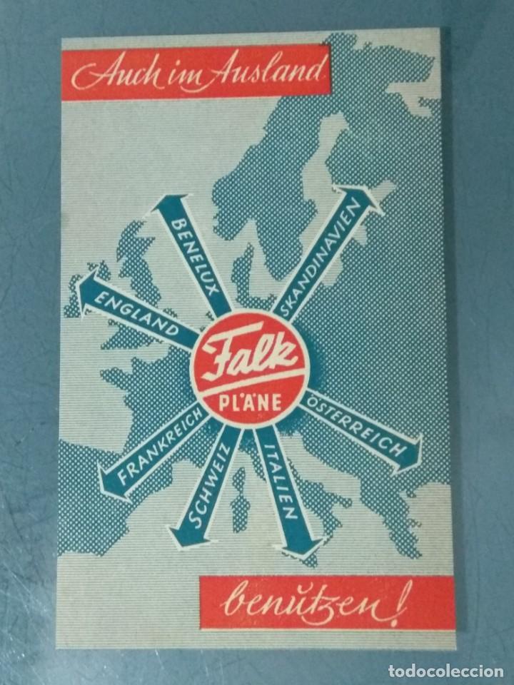 FALK PLANE - HOJA PUBLICIDAD. (Coleccionismo - Catálogos Publicitarios)