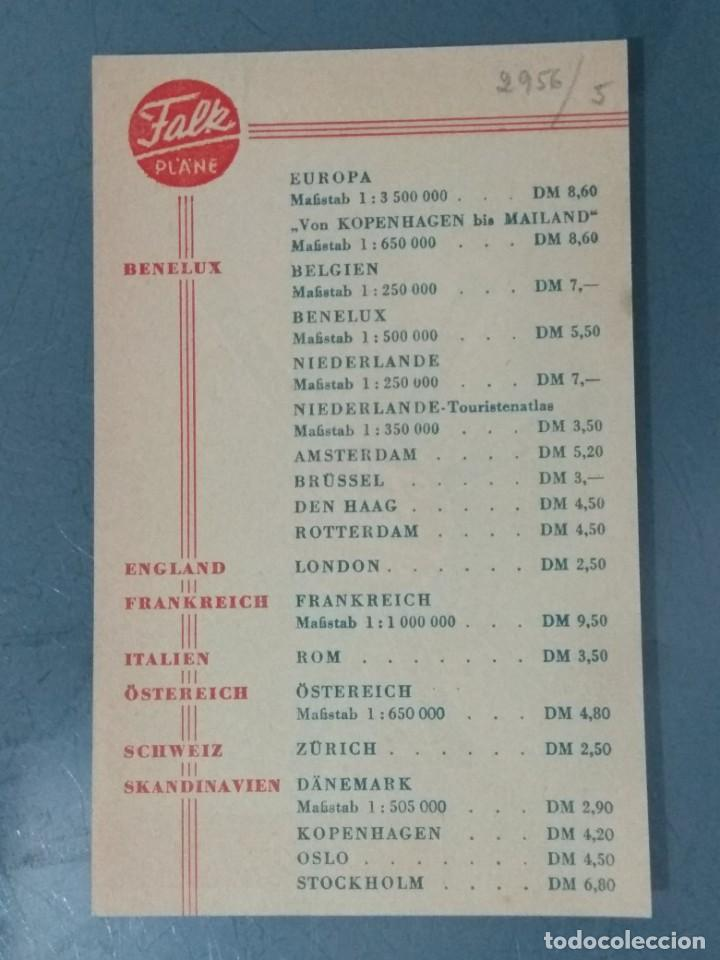 Catálogos publicitarios: FALK PLANE - HOJA PUBLICIDAD. - Foto 2 - 246071080