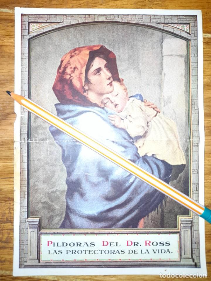 PUBLICIDAD ANTIGUA PASTILLAS DE VIDA DEL DR PILLS AÑOS 20 ? (Coleccionismo - Catálogos Publicitarios)