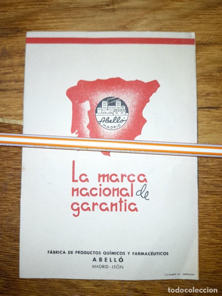 Catálogos publicitarios: Publicidad antigua Asmovacuna años 40 o 50 ? Laboratorios Abelló de Madrid y León - Foto 3 - 246083770