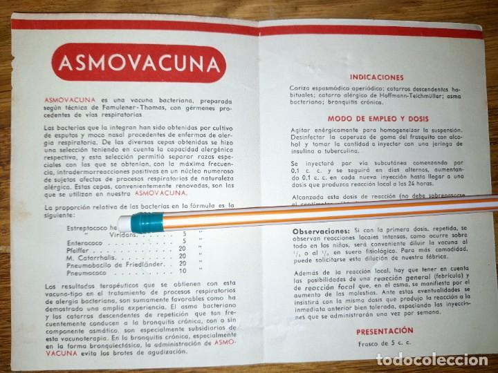 Catálogos publicitarios: Publicidad antigua Acinormal años 40 o 50 ? Laboratorios Abelló de Madrid y León - Foto 2 - 246083985