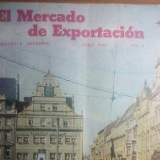 Catálogos publicitarios: CATÁLOGO ALEMÁN EPOCA NAZI DE EXPORTACION EN ESPAÑOL AÑO 1942. Lote 247630150