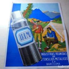 Catálogos publicitarios: MAGNIFICO ANTIGUO CATALOGO IRUM INDUSTRIA REUNIDAS DE UTENSILIOS METALICOS S.A. BARCELONA. Lote 247934345