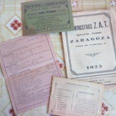 Catálogos publicitarios: INCREÍBLE LOTE VARIADO CATÁLOGOS FERRETERÍA AZULEJOS, FARMACIA, ETCADRID 1928. Lote 247946095