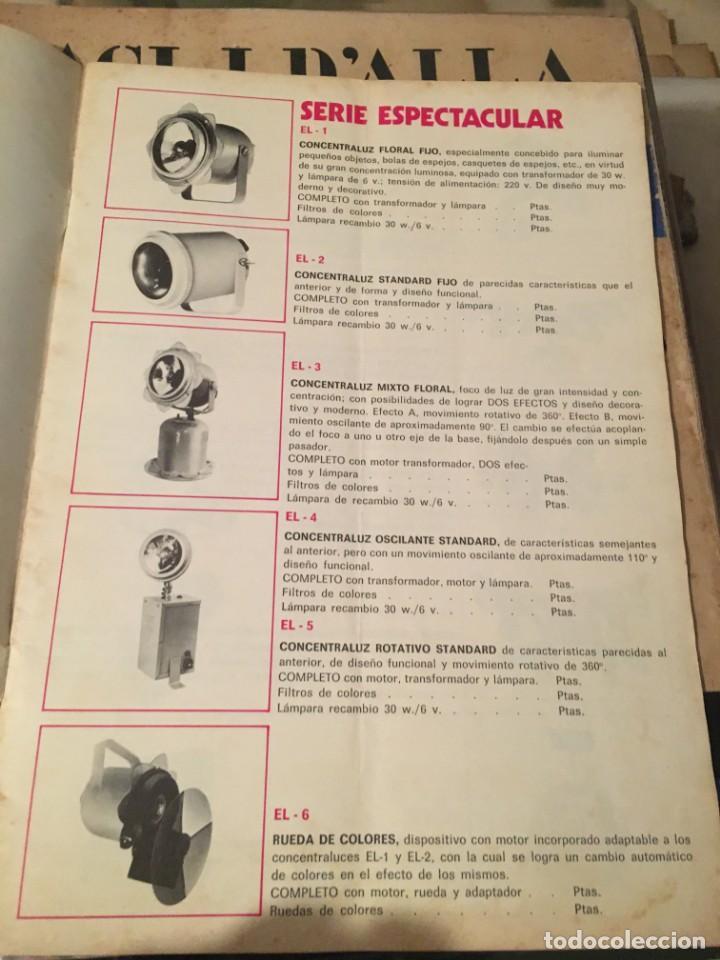 Catálogos publicitarios: CATALOGO AÑOS 60/70 - EUROLUX S/A. ILUMINACION Y SONIDO , CATALOGO GENERAL 20 PAG. 30X21,5 CM. - Foto 8 - 137329688