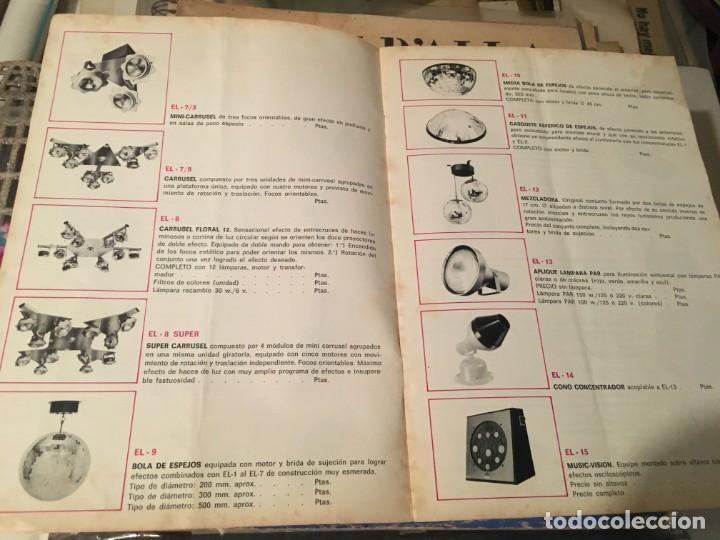 Catálogos publicitarios: CATALOGO AÑOS 60/70 - EUROLUX S/A. ILUMINACION Y SONIDO , CATALOGO GENERAL 20 PAG. 30X21,5 CM. - Foto 9 - 137329688