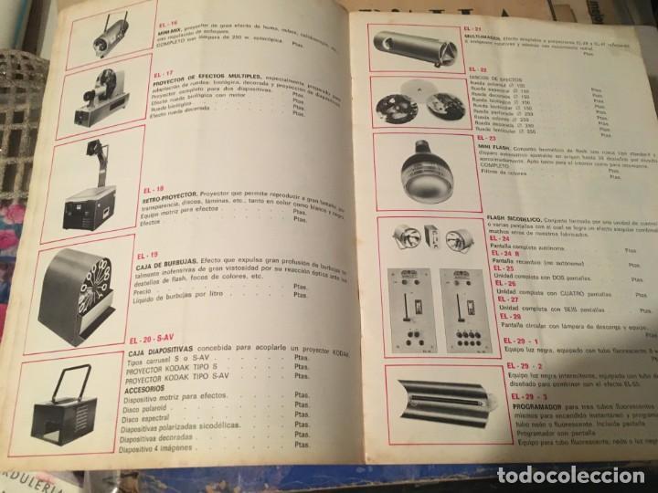 Catálogos publicitarios: CATALOGO AÑOS 60/70 - EUROLUX S/A. ILUMINACION Y SONIDO , CATALOGO GENERAL 20 PAG. 30X21,5 CM. - Foto 10 - 137329688