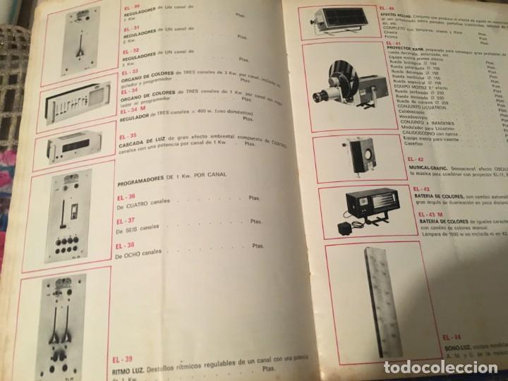 Catálogos publicitarios: CATALOGO AÑOS 60/70 - EUROLUX S/A. ILUMINACION Y SONIDO , CATALOGO GENERAL 20 PAG. 30X21,5 CM. - Foto 11 - 137329688