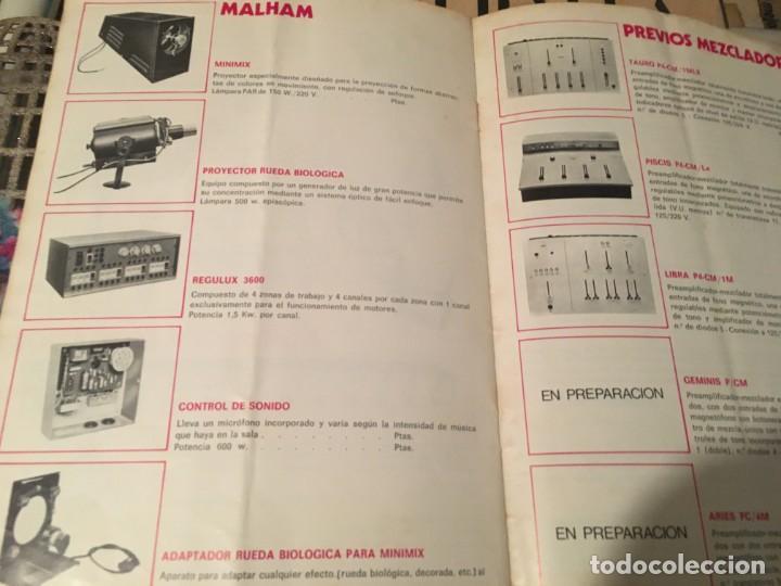 Catálogos publicitarios: CATALOGO AÑOS 60/70 - EUROLUX S/A. ILUMINACION Y SONIDO , CATALOGO GENERAL 20 PAG. 30X21,5 CM. - Foto 14 - 137329688