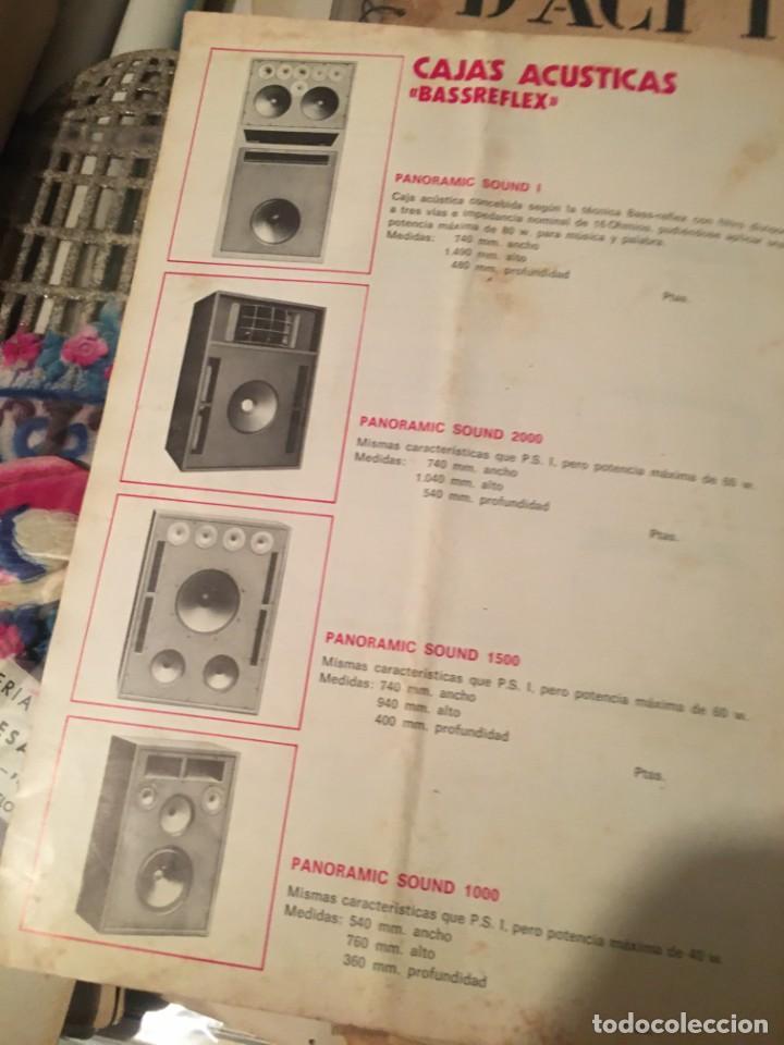 Catálogos publicitarios: CATALOGO AÑOS 60/70 - EUROLUX S/A. ILUMINACION Y SONIDO , CATALOGO GENERAL 20 PAG. 30X21,5 CM. - Foto 16 - 137329688