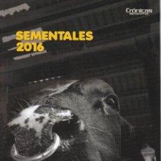 Catálogos publicitarios: CATALOGO DE SEMENTALES VACUNOS DE LECHE DE ABEREKIN DE 2016 + CALENDARIO. Lote 250107780
