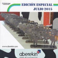 Catálogos publicitarios: CATALOGO DE SEMENTALES VACUNOS DE LECHE DE ABEREKIN EDICIÓN ESPECIAL JULIO DE 2015. Lote 250110385