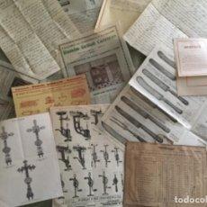 Catálogos publicitarios: ANTIGUO LOTE PUBLICITARIO, FACTURAS , CATÁLOGOS, ETC , XIX -XX. Lote 251053925