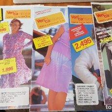 Catalogues publicitaires: LOTE 4 MINI CATÁLOGOS VENCA - PRIMEROS AÑOS 80. Lote 253245115
