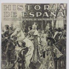"Catálogos publicitarios: FOLLETO EDITORIAL ""HISTORIA DE ESPAÑA"" DE ED. INSTITUTO GALLACH, BARCELONA (AÑOS 40). Lote 253287665"