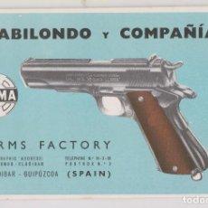 Cataloghi pubblicitari: GABILONDO Y COMPAÑÍA. ARMS FACTORY. THE LLAMA AUTOMATIC PISTOL. ELGOIBAR. PISTOLA ARMAS. Lote 254281155