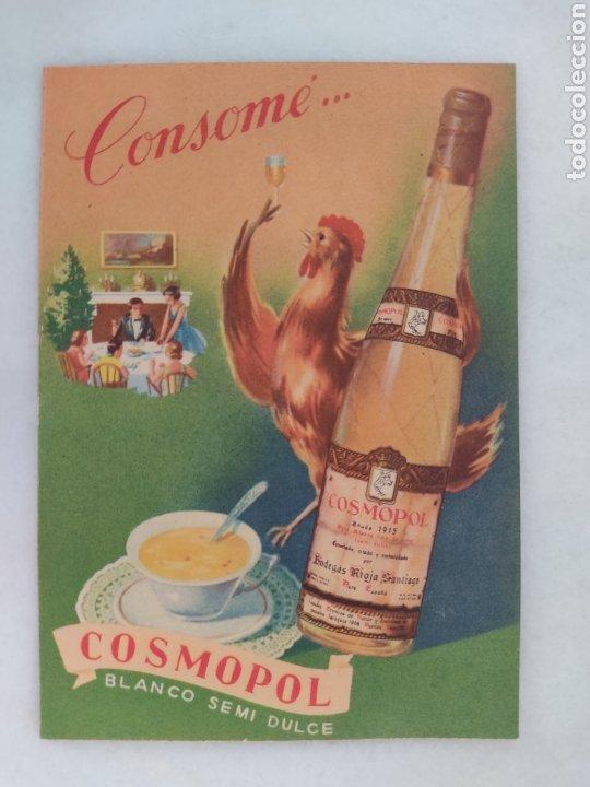 Catálogos publicitarios: catalogo publicitario bodegas Rioja Santiago Cosmopol Clavijo Bilibio - Foto 2 - 254323350