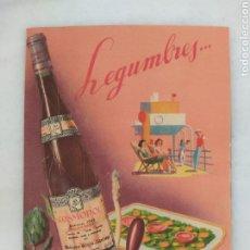 Catálogos publicitarios: CATALOGO PUBLICITARIO BODEGAS RIOJA SANTIAGO COSMOPOL CLAVIJO BILIBIO. Lote 254323350