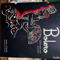 Catálogos publicitarios: BOLERO,PRIMER NIGHT CLUB DE ESPAÑA.RAMBLA CATALUÑA.BARCELONA. Lote 254344290