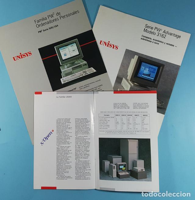 Catálogos publicitarios: LOTE CATALOGOS Y TARIFAS DE PRECIOS INFORMATICA ORDENADORES AÑOS 90, COMPAQ GOLDSTAR, TULIP, EPSON - Foto 4 - 254354050