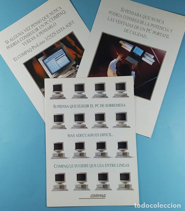 Catálogos publicitarios: LOTE CATALOGOS Y TARIFAS DE PRECIOS INFORMATICA ORDENADORES AÑOS 90, COMPAQ GOLDSTAR, TULIP, EPSON - Foto 5 - 254354050