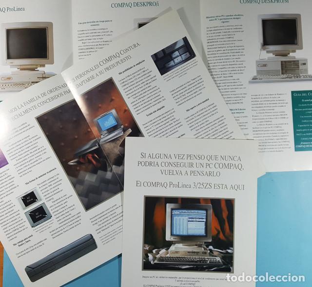 Catálogos publicitarios: LOTE CATALOGOS Y TARIFAS DE PRECIOS INFORMATICA ORDENADORES AÑOS 90, COMPAQ GOLDSTAR, TULIP, EPSON - Foto 6 - 254354050