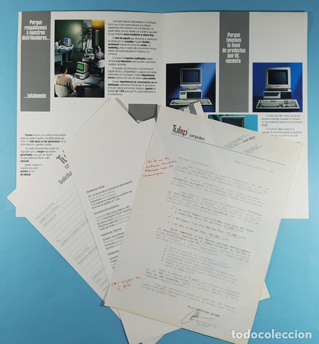 Catálogos publicitarios: LOTE CATALOGOS Y TARIFAS DE PRECIOS INFORMATICA ORDENADORES AÑOS 90, COMPAQ GOLDSTAR, TULIP, EPSON - Foto 7 - 254354050