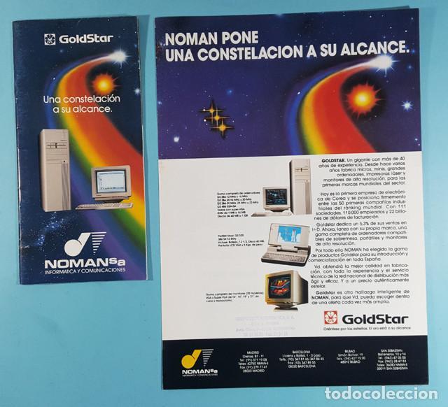 Catálogos publicitarios: LOTE CATALOGOS Y TARIFAS DE PRECIOS INFORMATICA ORDENADORES AÑOS 90, COMPAQ GOLDSTAR Y EPSON, PC - Foto 2 - 254355875