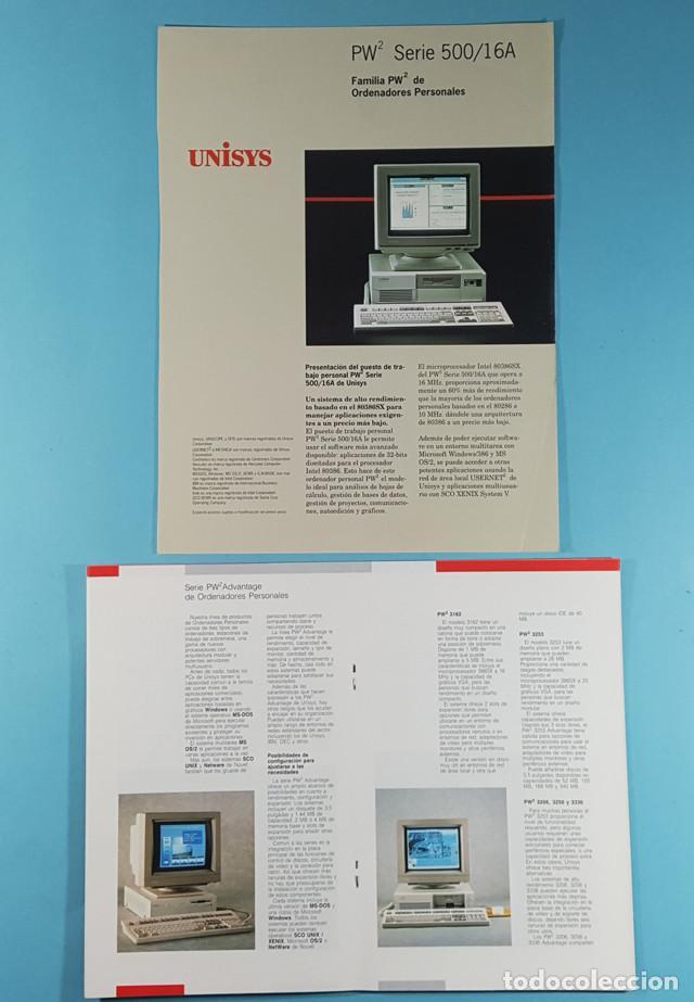 Catálogos publicitarios: LOTE CATALOGOS Y TARIFAS DE PRECIOS INFORMATICA ORDENADORES AÑOS 90, COMPAQ GOLDSTAR Y EPSON, PC - Foto 4 - 254355875