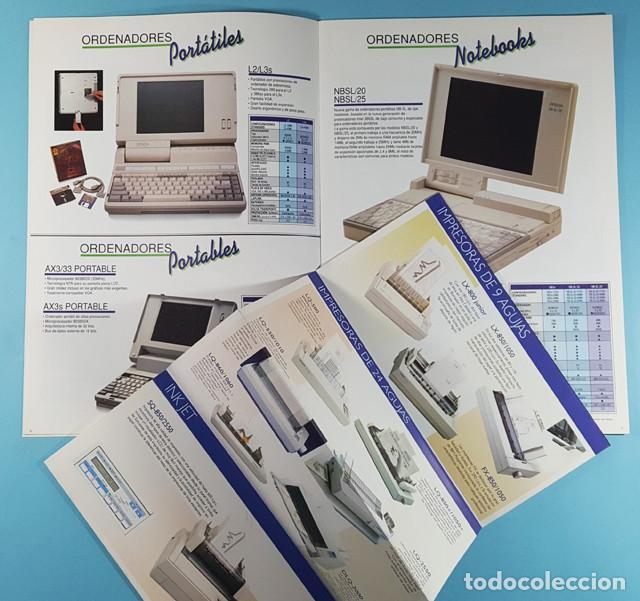 Catálogos publicitarios: LOTE CATALOGOS Y TARIFAS DE PRECIOS INFORMATICA ORDENADORES AÑOS 90, COMPAQ GOLDSTAR Y EPSON, PC - Foto 6 - 254355875