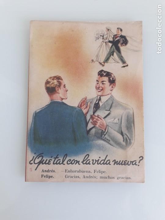 FOLLETO DE PUBLICIDAD SOMIER NUMANCIA - TEXTO DE A. ABAD TARDEZ - GRÁFICA MANEN - BARCELONA (Coleccionismo - Catálogos Publicitarios)