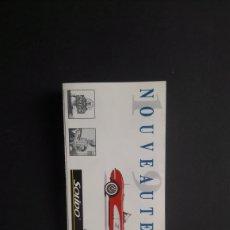Catálogos publicitarios: LOTE CATÁLOGOS BURAGO, SIKU,SOLIDO. Lote 254397385