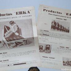 Cataloghi pubblicitari: PRODUCTOS ERKA. PARA LIMPIEZA GENERAL. A. KLAEBISCH. BARCELONA. PUBLICIDAD.. Lote 254581225