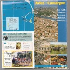 Catálogos publicitarios: ARLES - CAMARGUE. FÉRIA DE GANADEROS. 1999. (P/D51). Lote 254942855
