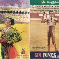 Catálogos publicitarios: PLAZA DE TOROS DE SEVILLA. FESTEJO Nº 17. TEMPORADA 1999. (P/D51). Lote 254943420