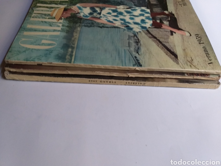 Catálogos publicitarios: Revista Galerías .Verano 1959 ,verano 1960 ,y otoño 1959 . Revistas historia patronaje moda . - Foto 2 - 262296670