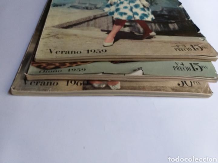 Catálogos publicitarios: Revista Galerías .Verano 1959 ,verano 1960 ,y otoño 1959 . Revistas historia patronaje moda . - Foto 3 - 262296670