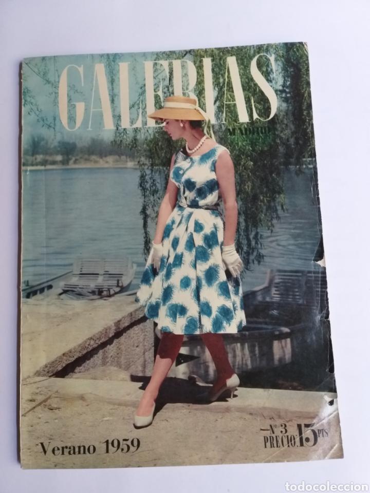 Catálogos publicitarios: Revista Galerías .Verano 1959 ,verano 1960 ,y otoño 1959 . Revistas historia patronaje moda . - Foto 6 - 262296670